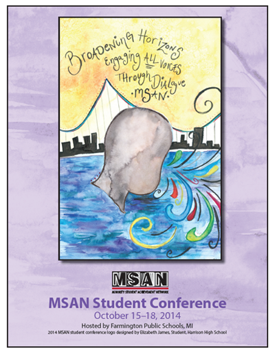 2014 Student Conference Program Cover